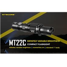 Nitecore MT22C Utilizes Cree XP-L HD V6 LED Flashlight - 1000 Lumens