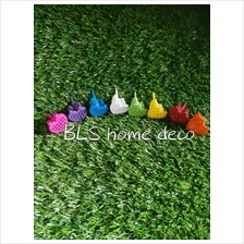 10 PCS COLORFUL FERTILIZER FUNNEL WITH OPEN CLOSE COVER