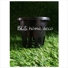 HEIGHT 8 CM ORCHID PLASTIC POT