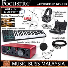 Focusrite Musician''s Home Full Recording Starter Kit