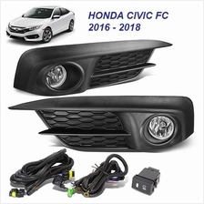 HONDA CIVIC FC Sedan 2016 - 2018 OEM Fog Lamp Sport Light (Pair)