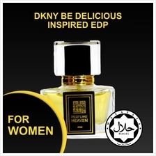 INSPIRED BY DKNY BE DELICIOUS 30ML EDP FOR WOMEN JAKIM CERTIFIED HALAL