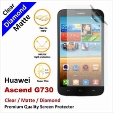 Premium Diamond Matte Clear LCD Screen Protector Huawei Ascend G730