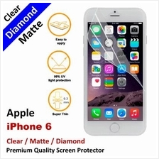 Premium Diamond Matte Clear LCD Film Screen Protector Apple iPhone 6