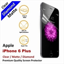 Premium Diamond Matte Clear LCD Screen Protector Apple iPhone 6 Plus