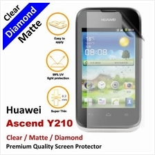 Premium Diamond Matte Clear LCD Screen Protector Huawei Ascend Y210