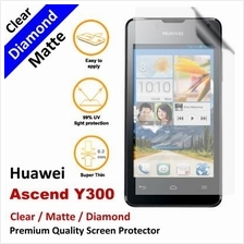 Premium Diamond Matte Clear LCD Screen Protector Huawei Ascend Y300