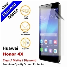 Premium Diamond Matte Clear LCD Film Screen Protector Huawei Honor 6