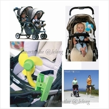Deboo Interesting Color Mini Clip-on.Fan Baby Stroller/ Jogger Safety
