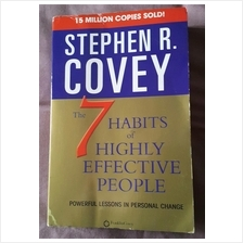 Stephen R covey the 7 habits of highly effective people English book