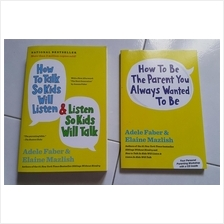 Parenting book how to talk so kids will listen Adele Faber and how to
