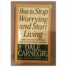 How to stop worrying and start living Dale Carnegie book English