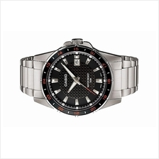 Casio Men Analog Stainless Steel Date Watch MTP-1290D-1A1VDF