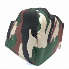 ARMY GREEN ADULT FACE MASK CLOTH 1 PIECE (REUSABLE)