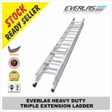 EVERLAS HEAVY DUTY TRIPLE EXTENSION LADDER ET 08,10,12,15,16,18,20