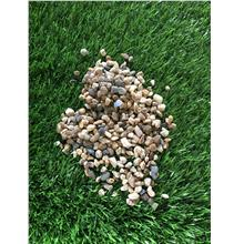 2KG 5 MM MIX -  COLOR PEBBLE WASH STONE GARDEN LANDSCAPE DECORATION