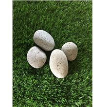 2KG GREY COLOR PEBBLE STONE GARDEN LANDSCAPE DECOR