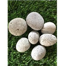 18KG GREY COLOR PEBBLE STONE GARDEN LANDSCAPE DECOR