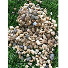 18KG 5 MM MIX - COLOR PEBBLE WASH STONE GARDEN LANDSCAPE DECORATION