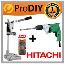 COMBO HITACHI DV13VSS 13mm (1/2'''') Impact Drill c/w 100pcs Accessories
