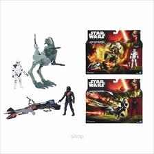 Star Wars Episode 7 3.75inch Class Vehicles with Figures Assortment - B3716)
