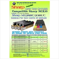 Sharp MX2818C/2018UC Compatible CMYK/COLOR Copier Toner Cartridges