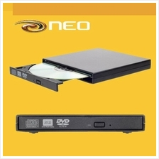 NEO Smallest & Lightest USB 2.0 Tray Load External DVD Writer PC MAC