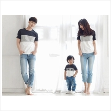Classic Striped Family Couple T-shirt