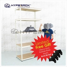 Hyperack 2400mm(H) x 1200mm(W) 5 Level (250kgs UDL) Econ Boltless Rack
