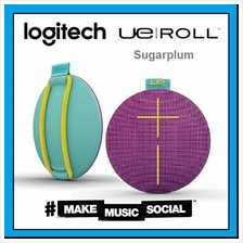 LOGITECH UE Roll Sugarplum Violet Bluetooth Waterproof Speaker