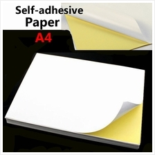 A4 White Glossy Self adhesive Sticker Sticky Back Label Printing Paper