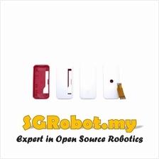 Raspberry Pi Zero W 3 In 1 Red White ABS Plastic Cover Casing Box