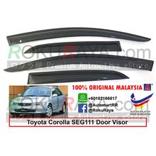 Toyota Corolla AE110 SEG111 1995-2000 AG Door Visor (Small 7cm Width): Best  Price in Malaysia