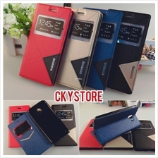 SAMSUNG A8 Star A6 J4 J6 J8 2018 SVIEW Standable Triangle Flip case
