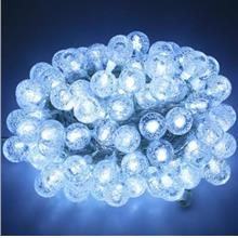 10M 100 LEDS PEBBLE BALL STRING LIGHT FOR CHRISTMAS PARTY (COOL WHITE