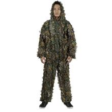 OUTDOOR HUNTING 3D LEAFY CAMOUFLAGE JUNGLE BIONIC SUIT SET