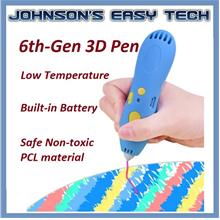 3D Printing Pen Low Temperature Children Creative Educational Toy