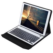 STYLISH DESIGN SLIM LEATHER BLUETOOTH KEYBOARD COVER WITH STAND FOR IP