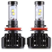 PAIRED K8 H8 / 9 / 11 80W INTEGRATED LED VEHICLE HEADLIGHT HEAT DISSIP