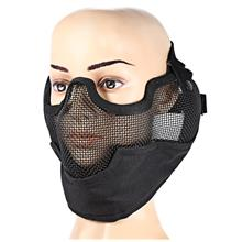 OUTDOOR PAINTBALL AIRSOFT/BB/CS VV2 2 IN 1 HALF FACE PROTECTIVE MASK