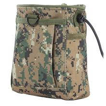 OUTDOOR DEBRIS POUCH MOLLE HUNTING STORAGE BAG (DIGITAL JUNGLE CAMOUFL