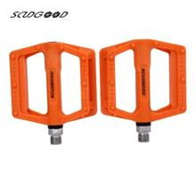 SCUDGOOD SG - 1612D SLIP-RESISTANT PAIRED BICYCLE PEDAL (ORANGE)