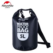 OUTDOOR ULTRALIGHT TRAVELING DRIFTING 5L WATERPROOF BAG WITH TRANSPARE