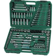 SATA 09510 150PC 1/4X3/8X1/2' DR. Socket Set Wrench Set