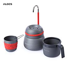 OUTDOOR CAMPING ALUMINUM ALLOY THERMAL COFFEE STOVE