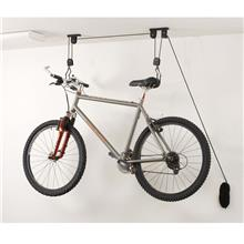 Bike Bicycle Lift Ceiling Mounted Hoist Storage Garage Hanger Pulley R