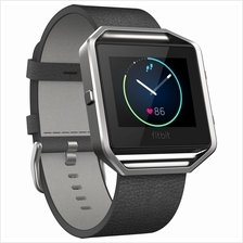 FITBIT BLAZE LEATHER SMALL WRISTBAND (FB159LBBKS) BLK