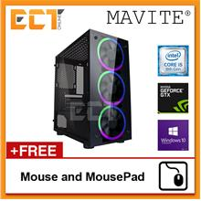 (2018 Latest) Mavite S3 Pro RGB Gaming Desktop PC