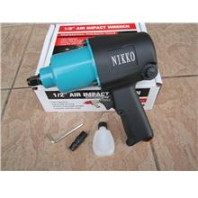 Nikko 1/2' Dr. Twin Hammer Air Impact Wrench