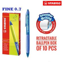 STABILO Performer+ Pen Fine (0.38mm) Box of 10's)